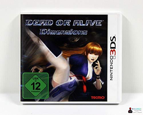 Dead Or Alive Maße (Nintendo 3DS)