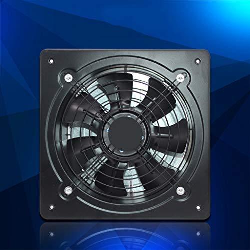 LITING Ventilador de ventilación doméstico Extintor 10 Ventilador Axial Industrial Pulgadas 250mm De Alta Velocidad Potente Aire De La Cocina Gas Baño De Pared Tipo