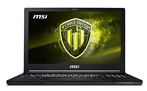 MSI WS63 8SK(Vpro)-005IT Notebook con Processore i7-8850H e Scheda Grafica Nvidia QUADRO...