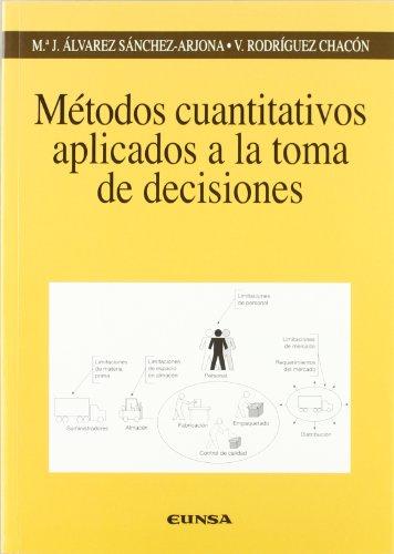 Métodos cuantitativos aplicados a la toma de decisiones (