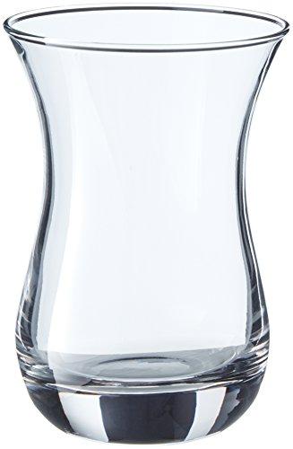 Pasabahce 62511 Aida vidrio del té 14cl sin orejuela, 6 vidrio