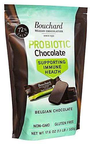 Bouchard Probiotics Belgian Chocolate Dark 72% Cacao