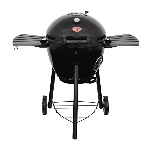 Char-Griller E4822 Premium Black Kettle Charcoal Grill Grill & Smoker