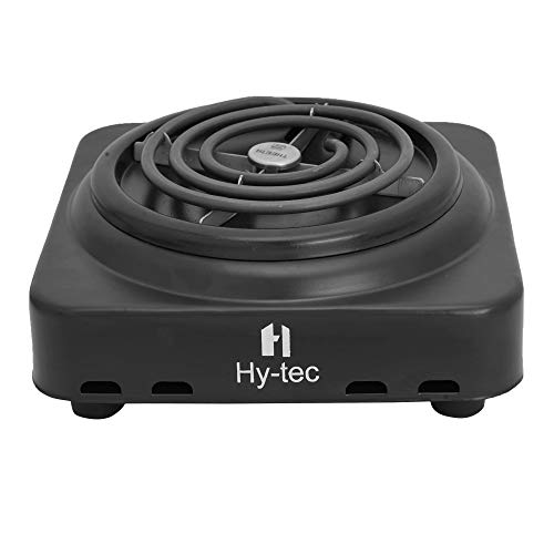 H Hytec (Device) HYEH-01 1000 Watt Theeta Electric Hot Plate Induction Cooktop/Electric Coil Stove (Black)