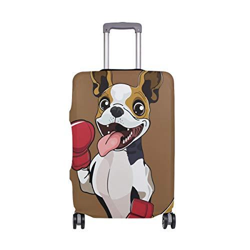 Funda para Equipaje de Viaje con diseño de Dibujos Animados para Perro, elástica, Lavable, para Maletas de 18 a 32 Pulgadas
