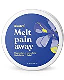 ASUTRA Magnesium Body Butter Lotion with Shea Butter, 6.76 oz | Relieve Muscle Cramps | Fight Joint Pain | Stress Relief | Eczema Soothing Cream | Promote Healthy Sleep w/Calming Lemongrass