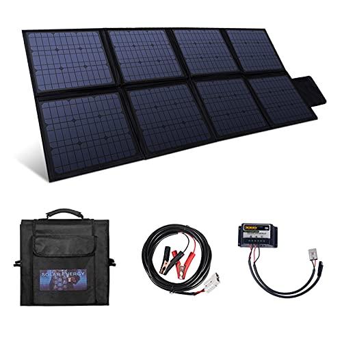 BETOP-CAMP Kit Panel Solar Plegable 200W, Panel Solar Monocristalino Portátil con Controlador...