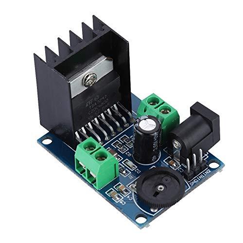 Wendry TDA7297 Dual Channel Digitale audioverversterker, plank, eindstuk, stereo-versterkermodule, digitale audio stereo-power versterker board voor 4-8 ohm 10-50 W luidsprekers
