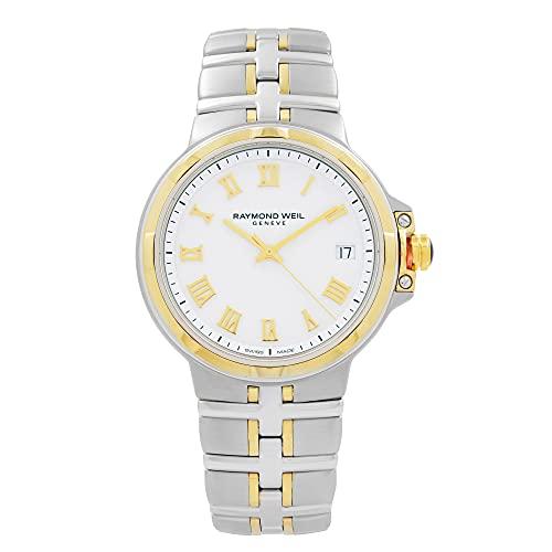 Raymond Weil Parsifal Quartz Uhr, Weiss, PVD, 41 mm, 5580-STP-00308