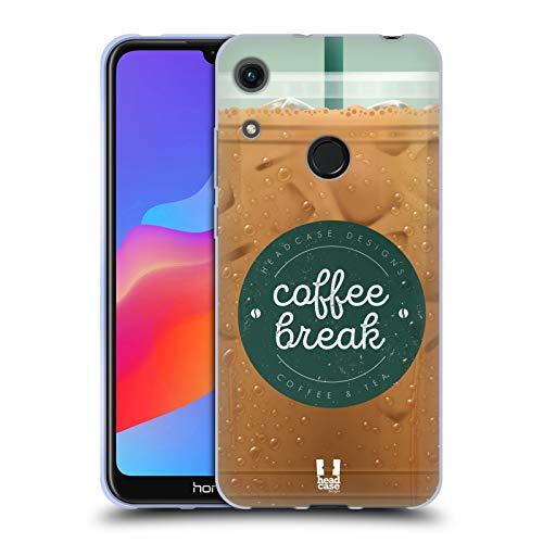 Head Case Designs Vereist Kaffeetassen Soft Gel Huelle kompatibel mit Huawei Honor 8A