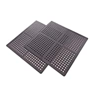 Official Oypla Branded Product - Brand New Free Delivery 8 Individual Mats Supplied Dimensions: 600 x 600mm - Thickness: 12mm Weatherproof - Feature Drainage Holes Made from High Quality Padded Foam with Non-Slip Pattern