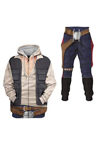 Generic Ranger Han Solo Traje Anime Cosplay Disfraz 3D Impresin Sudadera Sudadera Sudadera Larga Tiempo Libre Hombre 4XL