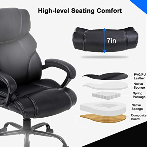 BestOffice Big and Tall Office Chair Desk Chair