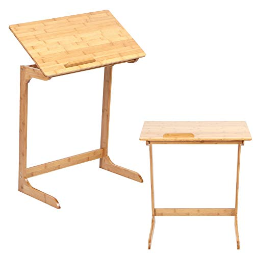 Mesa de alta calidad, Color de bambú Método de instalación de escritorio de oficina de oficina Materiales de bambú Estructura de bambú con bambú para la oficina en casa
