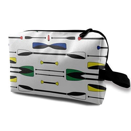 Hdadwy Olympic Rowing Oars Bolsa de cosméticos Blanca para Mujeres, adorables y espaciosas Bolsas...