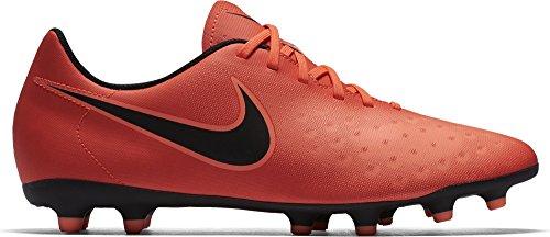 Nike Magista Ola II FG, Scarpe da Calcio Uomo, Rosso (Total Crimson/Black-Brght Mango), 42 EU