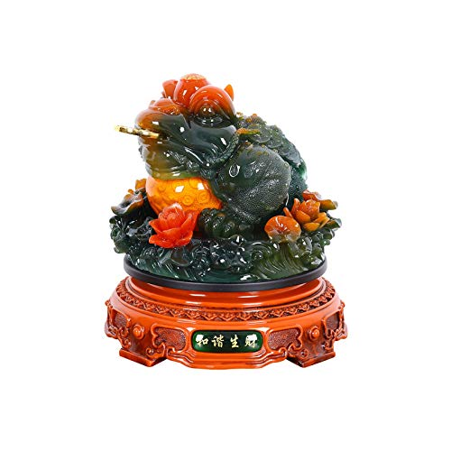 Estatuas Decorativas Oficina de la Oficina de la Oficina de Decoración Lucky Decoración de Tres Legas Feng Shui Dorado Decoración de Decoración Decoración de Escritorio Decoración de Decoración Apertu