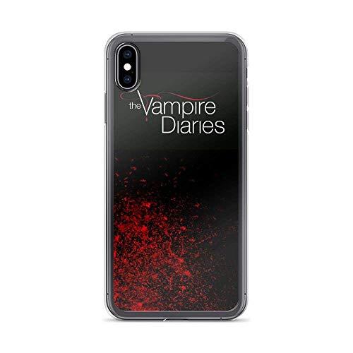 Acedinin CompatiblewithiPhone11Telefonkasten CaseVampire Diaries Fallen Leaf Supernatural DramaPureClearPhoneTelefonkasten CasesCover