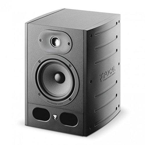 Focal Alpha 5055W Lautsprecher –Lautsprecher (2-Wege, mit Kabel, RCA/XLR, 55W, 45–22000Hz, schwarz).
