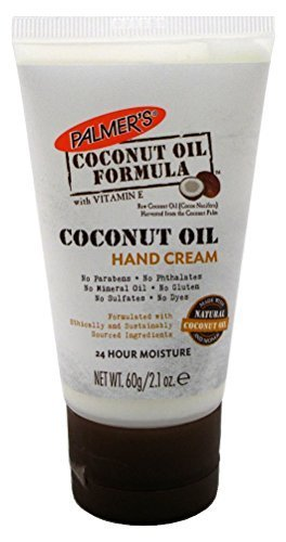 Palmers Coconut Oil Hand Cream 2.1oz (6 Pack) by Palmer's