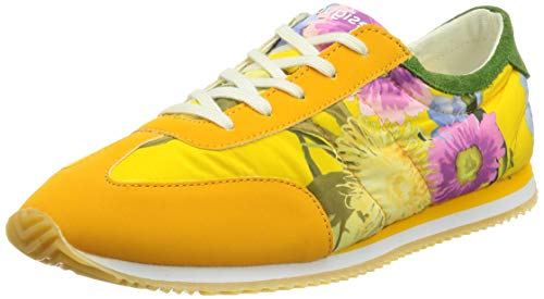 Desigual Shoes_Royal_Flowers, Sneakers Woman. Mujer