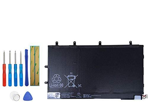 Upplus LIS3096ERPC - Batteria di Ricambio per Sony Xperia Tablet Z SGP311 SGP312 SGP321 SGP341 SGP351 Series con Kit di Attrezzi