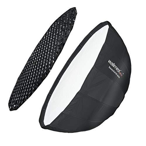 Walimex pro Studio Line Beauty Dish Softbox QA85 mit Softboxadapter Aurora/Bowens
