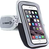 Universal Phone Holder for Running : Phone Armband Sleeve Workout Gear Arm Pouch Case & Bag for Apple iPhone 7 7S 8 8S Plus X XS XR MAX 11 & Galaxy Note 7 8 9 - All Plus Sized Phones UP to 6.4 INCHES