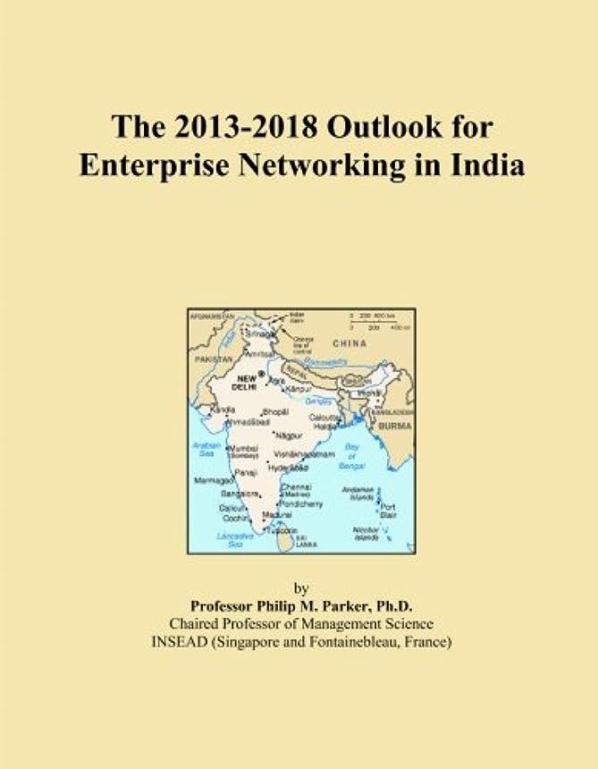 鰐中にポールThe 2013-2018 Outlook for Enterprise Networking in India
