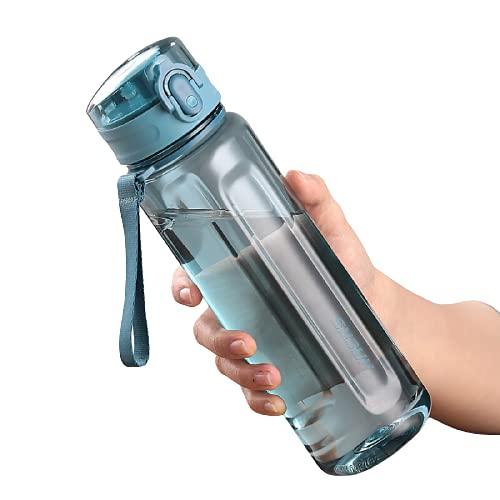 TAIJUN Botella de agua personalizada, 650 ml, 800 ml, botellas de agua reutilizables sin Bpa, botella de agua personalizada, botella de agua ecológica, para gimnasio, bicicleta, a prueba de fugas