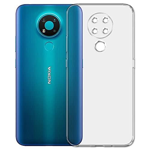 Amagav Back Cover for Nokia G20 (Soft Silicone Transparent Mobile Cover)