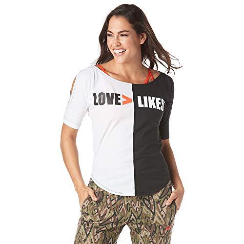 Zumba Camiseta de diseño de impresión de Moda para Mujer
