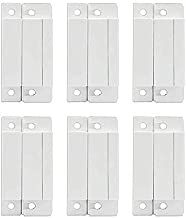 Mbangde Lot of 6 Wired Magnetic Door Window Contact Reed Switch Personal Gap Alarm - Cabinet Strip Light Switch NC DIY Kit
