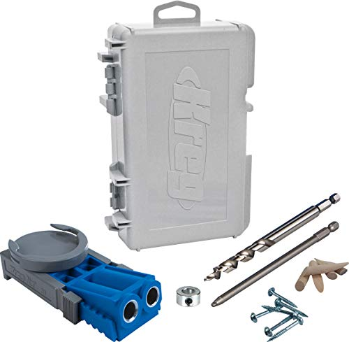 KREG Jig R3 Pocket Hole System, Blue, Pack of...