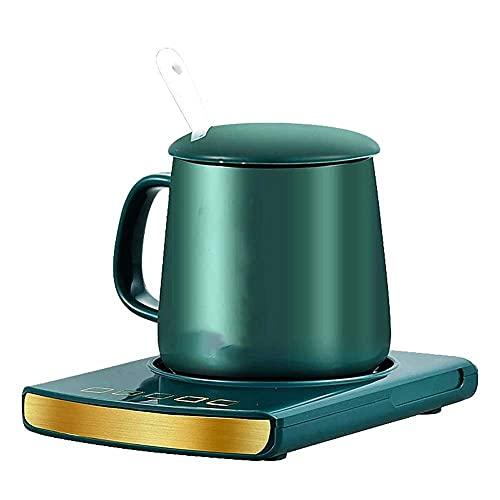 Adesign Coffee Mug Warmer, Electric Cup Warmer for Desk Use, 4 Temperature Levels & Auto Shut Off, Mug Heater for Coffee, Milk, Tea, Cocoa, Hot Chocolate Heating Plate