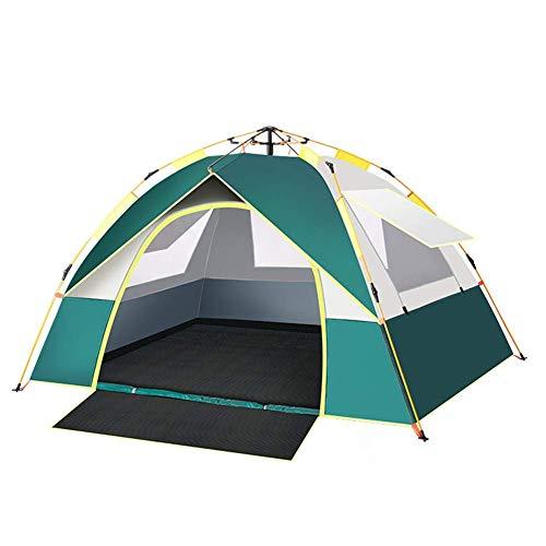 Las tiendas de ducha for acampar, automática surge la tienda, la persona 3-4 4season Familia grande tienda impermeable ligero con mochila de escalada que acampa yendo de viaje - Fácil de configurar