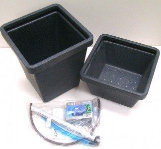 GHE Aquafarm 45 Liter inkl. Pumpe Pflanzsystem Hydrokultur