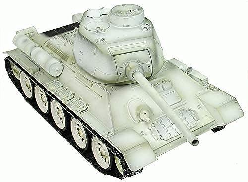 nuevo listado Taigen Hand Painted RC Tank Tank Tank T34 T85 blanco Winter Camo - Full Metal - 2.4Ghz  la red entera más baja