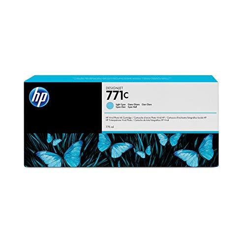 HP 771 / B6Y12A / TINTE CYAN HELL DESIGNJET Z6200, 775ML