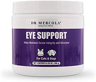 Dr. Mercola, Eye Support, for Cats and Dogs, 6.35 oz (180 g), Non GMO, Gluten Free