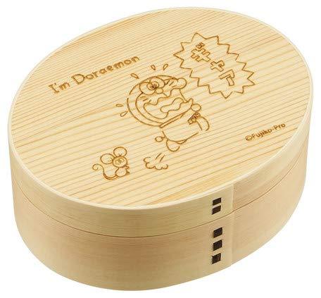 OSK Doraemon Magewappa - Fiambrera (Madera de Cedro, 480 ml)