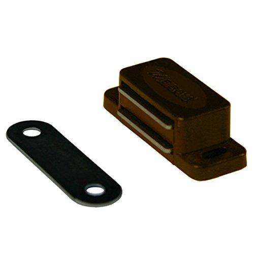 Magnetschnäpper Braun Magnetschnapper Türmagnet Möbelmagnet Schranktürmagnet