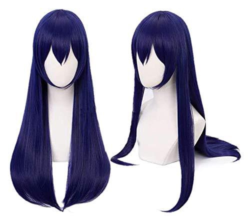 JPSOUP LoveLive Sonoda Umi Cosplay Perücke Mädchen Lange gerade Blaue Haare mit...