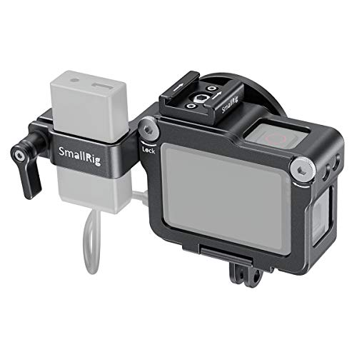 SMALLRIG CVG2320 - Jaula para GoPro HERO7/6/5, Color Negro
