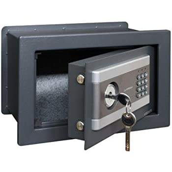CAJA FUERTE EMPOTRABLE ELECTRICA 350X250X250 NEW STYLO S1: Amazon ...
