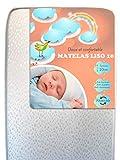 Colchón para bebé suave y cómodo LISO 10 Plus (60 x 120)