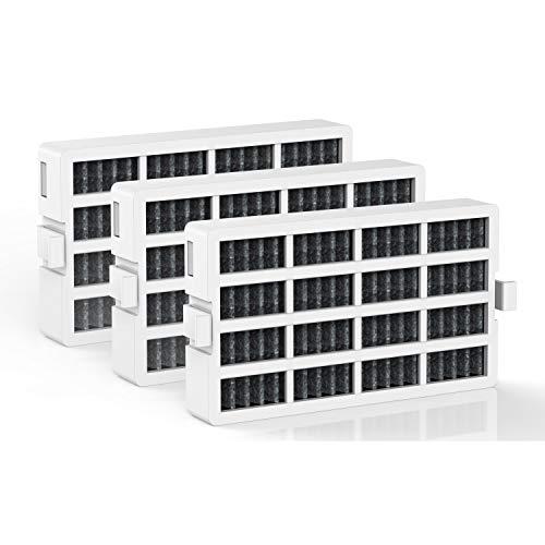 BELVITA Refrigerator Air Filter Compatible W10311524 AIR1 Fits Whirlpool Maytag KitchenAid and JennAir, 3 Pack