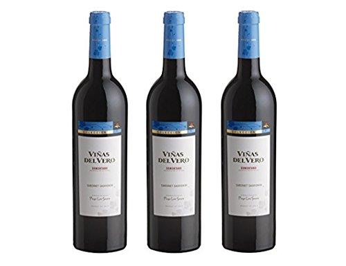 Viñas Del Vero Cabernet Sauvignon Colección - Vino D.O. Somontano - 3 Botellas de 750 ml - Total : 2250 ml