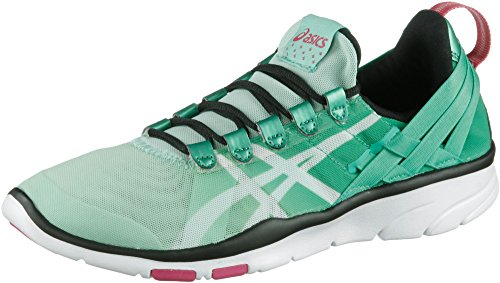 Asics Gel-Fit Sana Women s Training Shoes, Mint White Black, S465N-7001, 35.5 EU