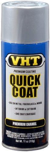 VHT SP525 Quick Coat Silver Chrome Acrylic Enamel Can - 11 oz.